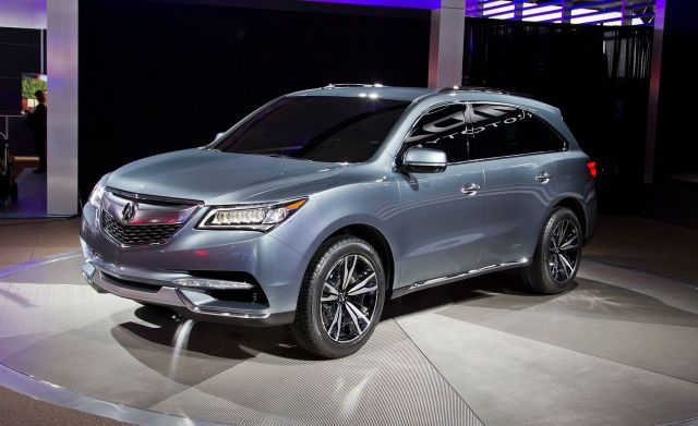 2019 Acura MDX front