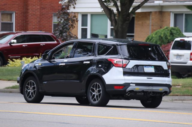 2019 Ford Escape rear