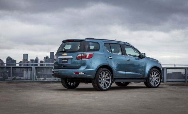 2019 Chevrolet Trailblazer rear