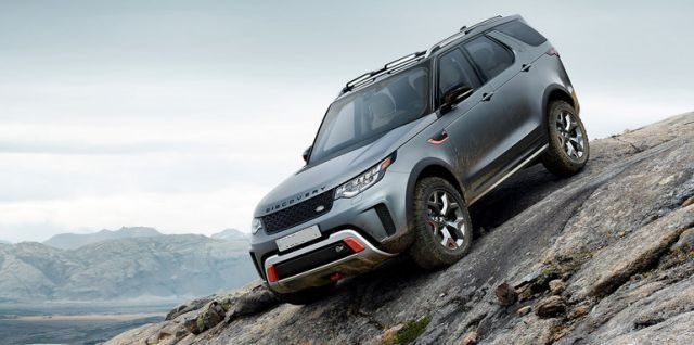 2019 Land Rover Discovery SVX model