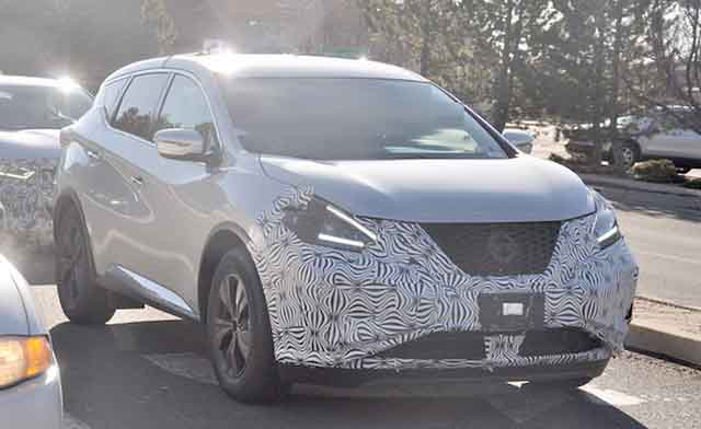 2019 Nissan Murano spied