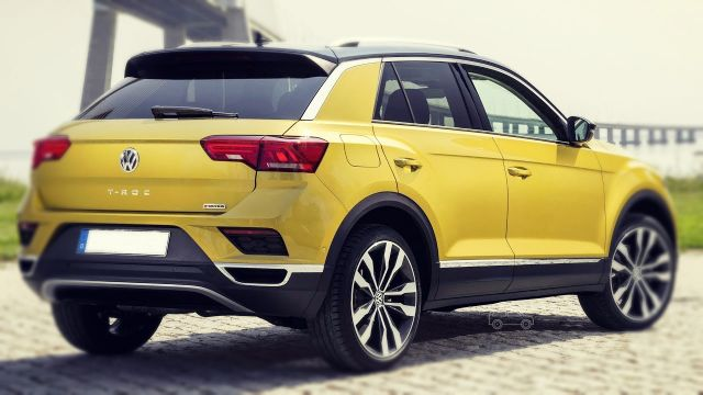 2019 Volkswagen T-Roc rear