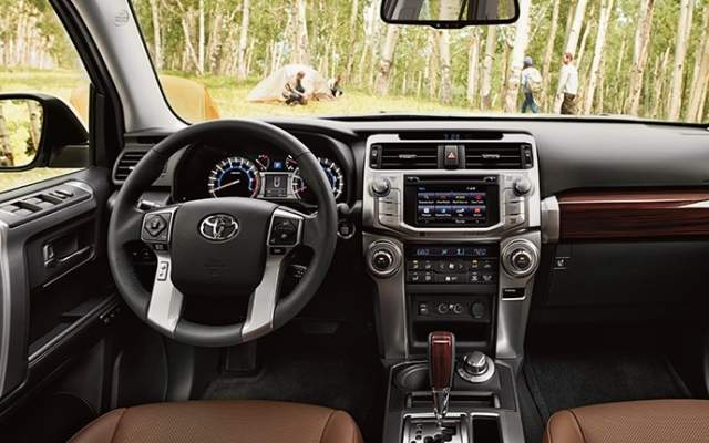 2020 Toyota 4Runner interior