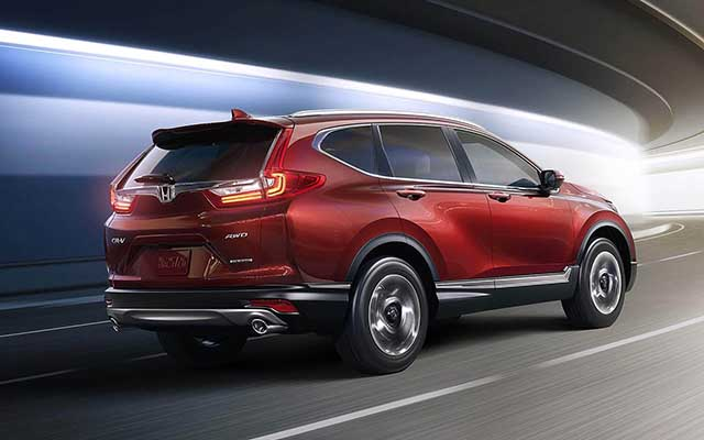 2020 Honda Cr V Spy Photos Changes Release Date 2019 2020