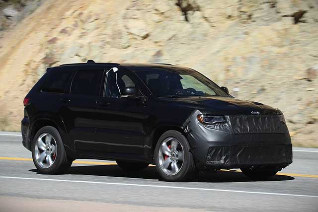 2020 Jeep Grand Wagoneer spy photos