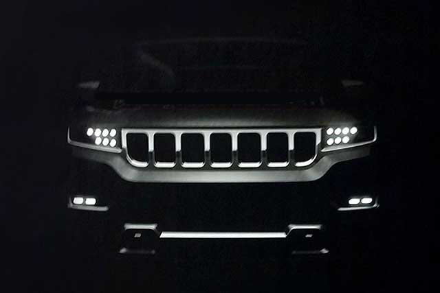 2020 Jeep Grand Wagoneer teaser