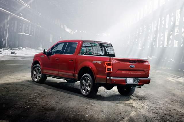2018 Ford F-150 Diesel rear