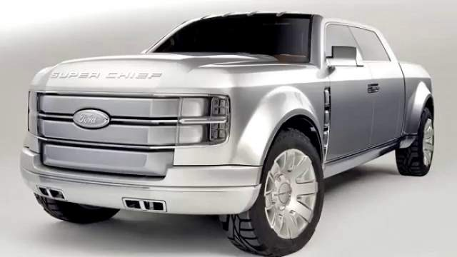 2018 Ford Super Chief front