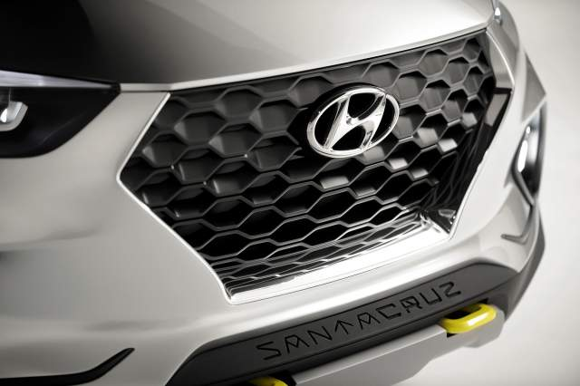 2018 Hyundai Santa Cruz Pickup grille