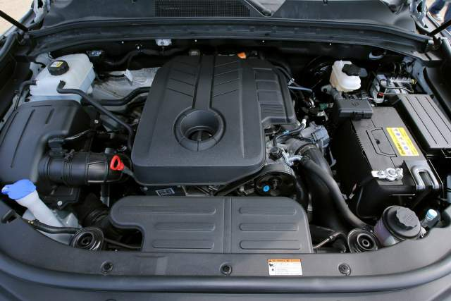 2018 SsangYong Musso engine