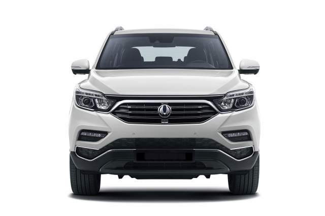 2018 SsangYong Musso front