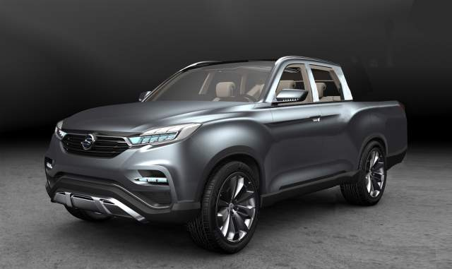 2018 SsangYong Musso Truck, Release Date, Changes - 2019 and 2020 Pickup Trucks