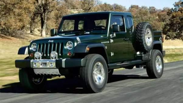2019 Jeep Wrangler Diesel Pickup Truck