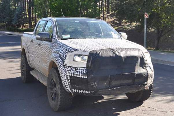 2019 Ranger Raptor Spy Shot