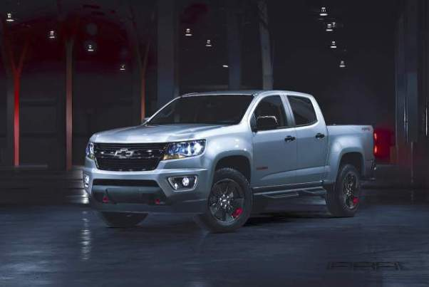 2018 Chevy Colorado Redline