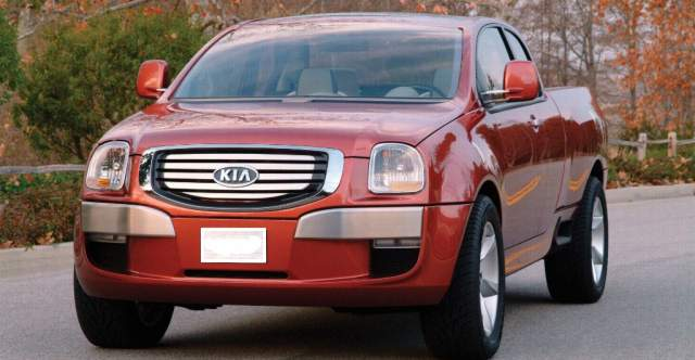 Kia Mohave concept from 2004