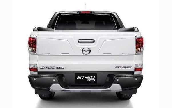 2018 Mazda BT-50 rear