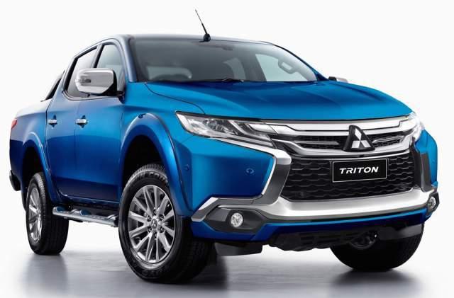 2018 Mitsubishi Triton Hybrid and Diesel Drivetrains ...