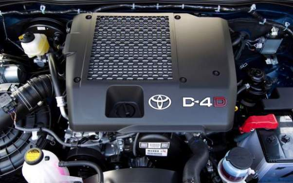 2018 Toyota Hilux D-4D diesel engine