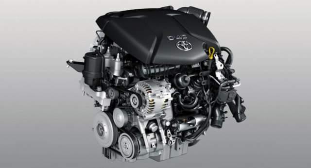 2018 Toyota Tacoma Diesel engine