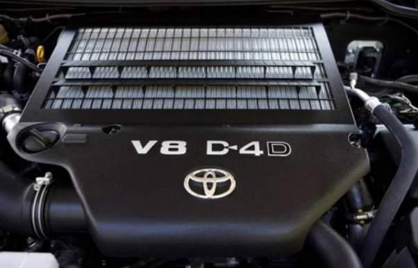 2020 Toyota Tundra Diesel engine