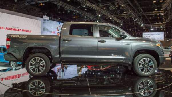 2018 Toyota Tundra Diesel side