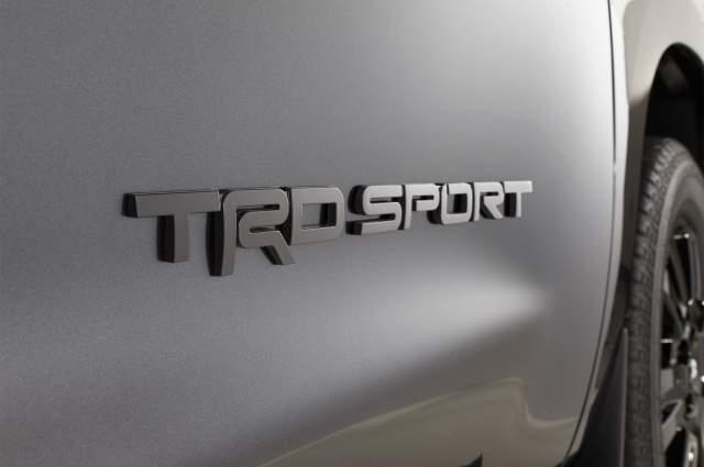2018 Toyota Tundra TRD Sport badge