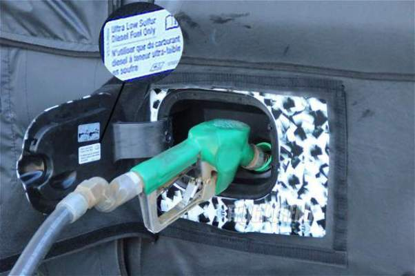 2019 Chevrolet Silverado 1500 Diesel fuel