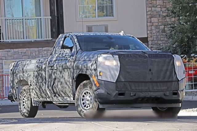 2019 Chevrolet Silverado 1500 Diesel spied