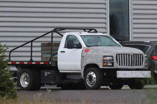 2019 Chevy Kodiak HD 4500 is coming as a Silverado 4500 ...