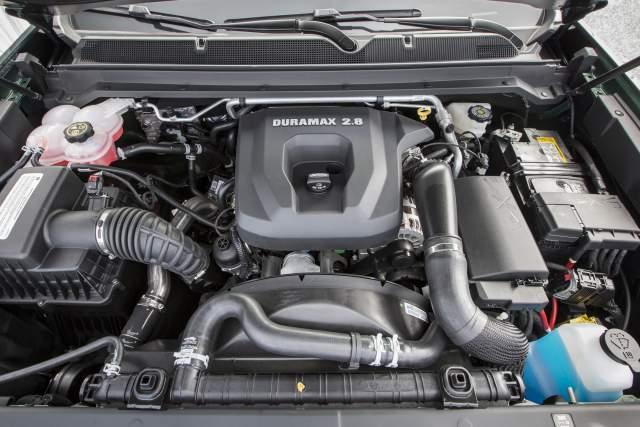 2019 GMC Sierra 1500 Diesel engine