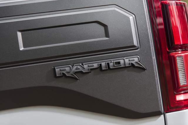 2020 Ford F-150 Raptor Hybrid Concept badge