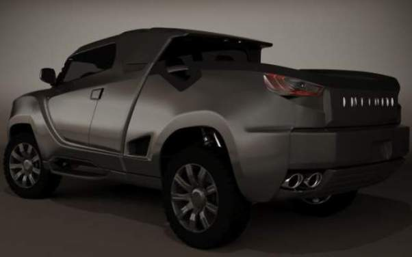 Infiniti Pickup Truck Concept – The Luxurious BX Concept ...