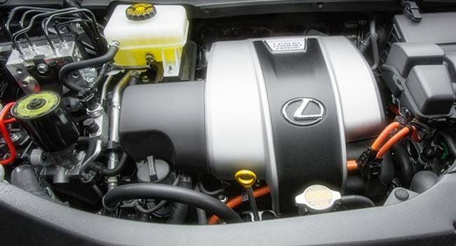 Lexus Pickup Truck Concept engine