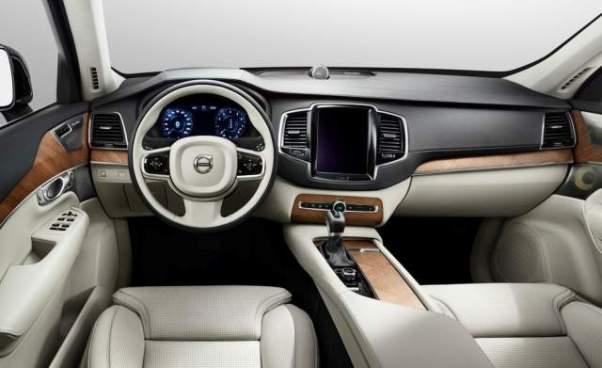 Volvo Pickup Truck interior