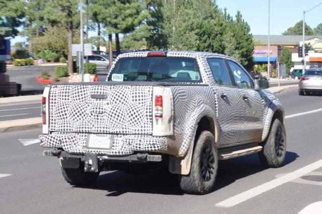 2019 Ford Ranger spied