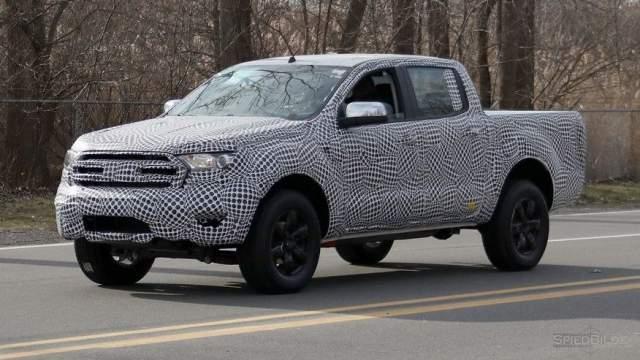 2019 Ford Ranger spy shot