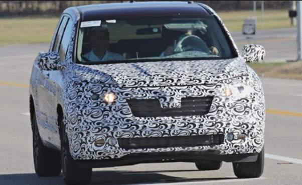 2019 Honda Ridgeline spied
