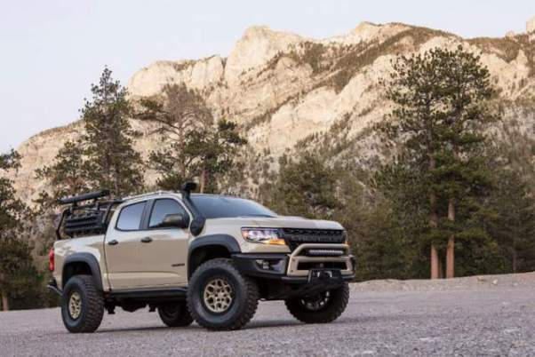 2020 Chevy Colorado ZR2 Prototype side