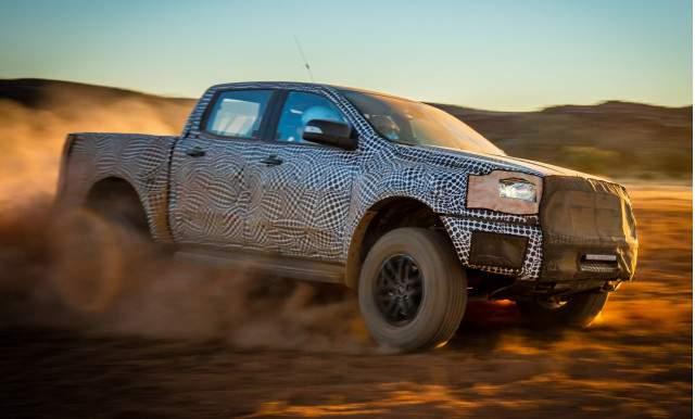 2019 Ford Ranger Raptor test