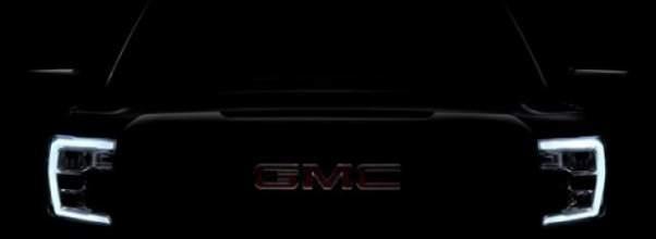 2019 GMC Sierra teaser