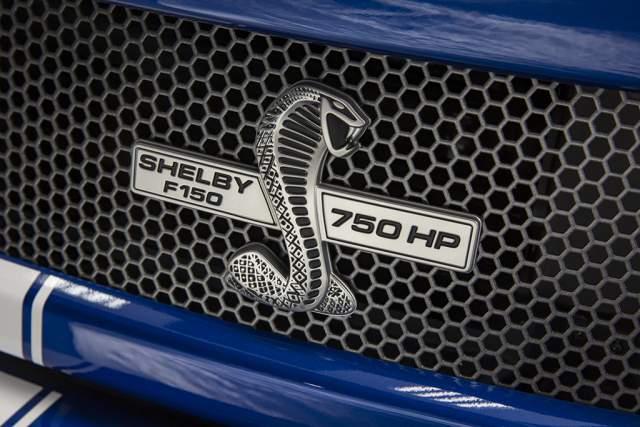 2019 Ford F-150 Super Snake grille