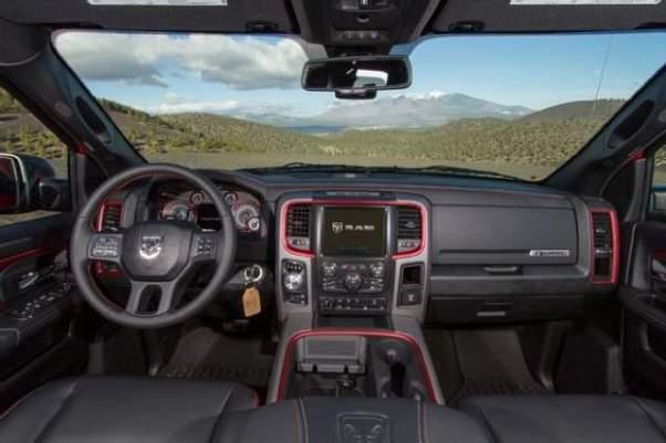 2019 Ram 1500 Quad Cab interior