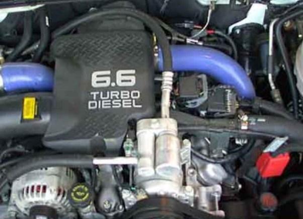 2020 Chevy Silverado HD engine