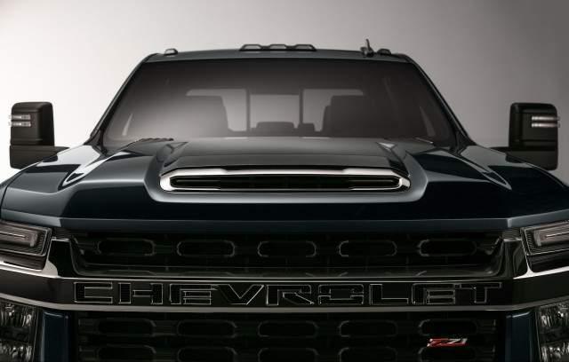 2020 Chevy Silverado HD teaser