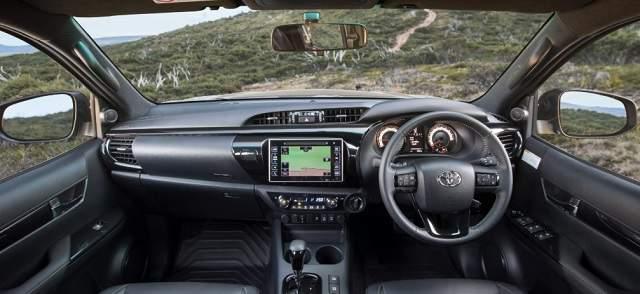 2018 Toyota HiLux Rugged X interior