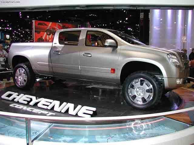 2019 Chevy Cheyenne concept