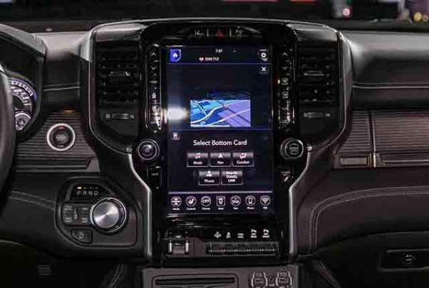 2019 ram 3500 interior