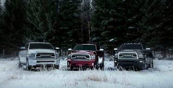 2019 Dodge ram 3500 trim levels