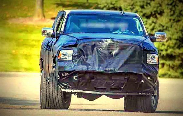 2019 Dodge ram 3500 spied